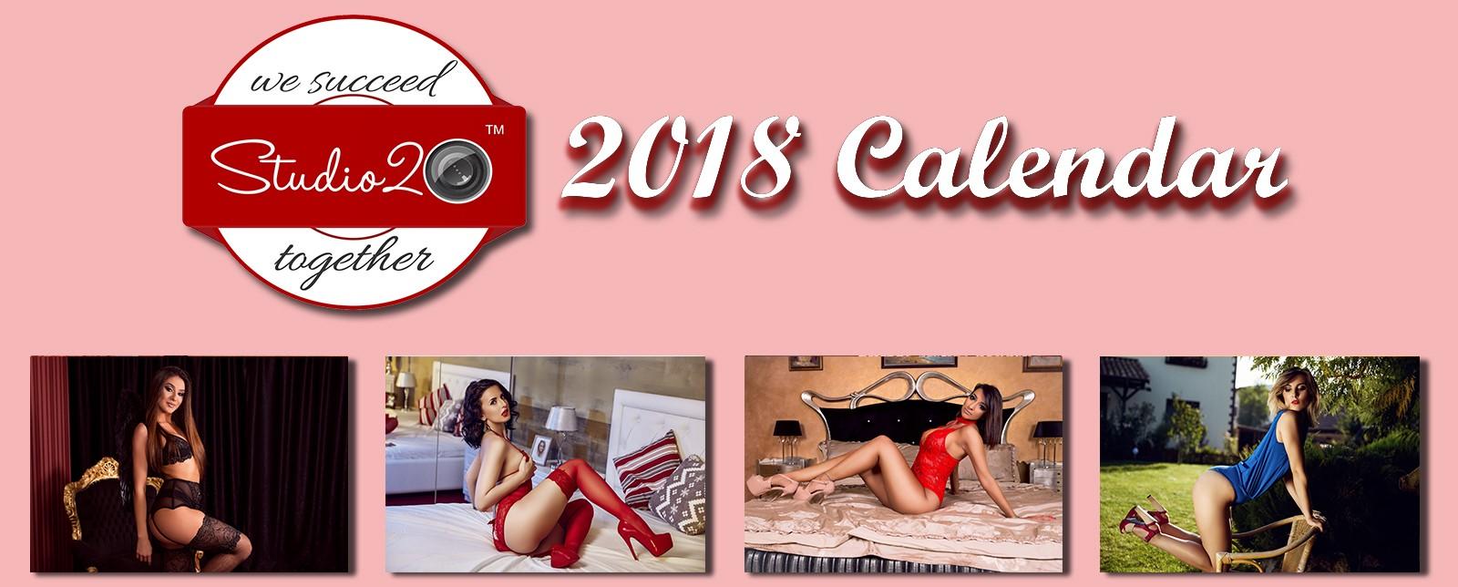 Studio20 Announces Christmas Calendar With Top Models
