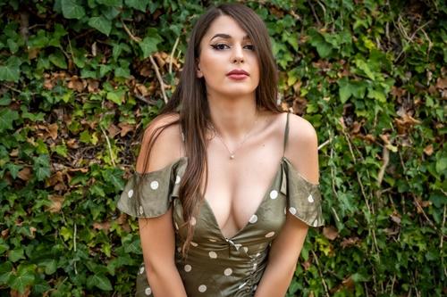 Yvettezener the innocent hot brunette